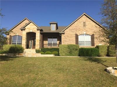 Leander Single Family Home For Sale: 2404 Ambush Cyn