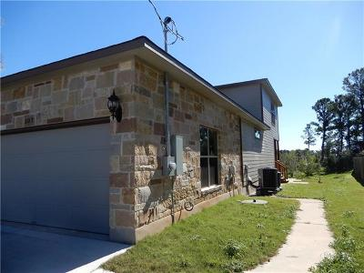 Bastrop County Single Family Home For Sale: 107 W Hilo Ct