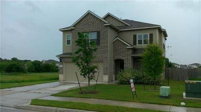 Leander Single Family Home For Sale: 325 Mourning Dove Ln