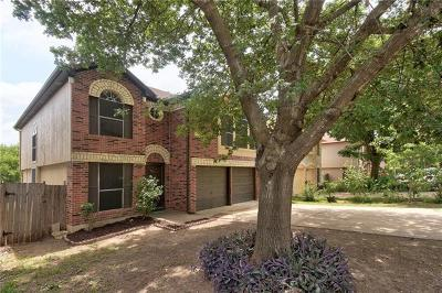 Round Rock Single Family Home For Sale: 1423 Garden Path Dr