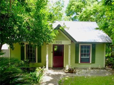 Burnet County, Llano County, Travis County Single Family Home For Sale: 1005 S 3rd St