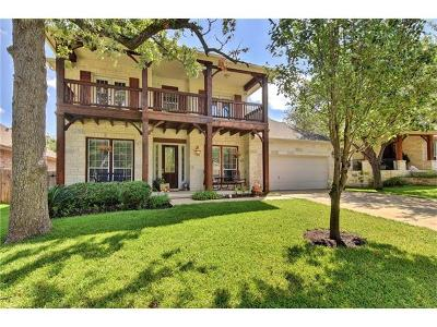 Austin Single Family Home Active Contingent: 11009 Ariock Ln