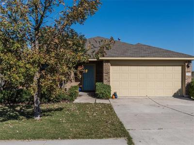 Manor Single Family Home Pending - Taking Backups: 18416 Great Falls Dr