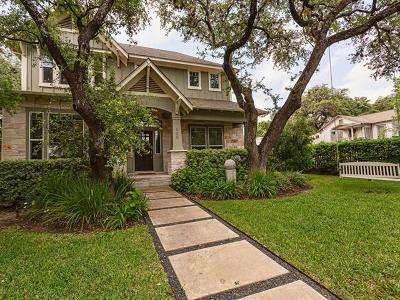 Austin Single Family Home For Sale: 805 W Mary St