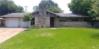 Austin Single Family Home For Sale: 5609 Cordell Ln