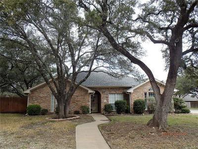 Killeen TX Single Family Home For Sale: $174,900