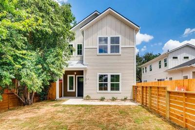 Travis County Single Family Home For Sale: 3012 E 14 1/2 St #A
