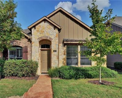 Cedar Park Condo/Townhouse For Sale: 11400 W Parmer Ln #110