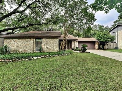 Travis County Single Family Home Pending - Taking Backups: 4842 Trail Crest Cir