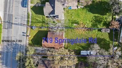 Single Family Home For Sale: 719 Springdale Rd