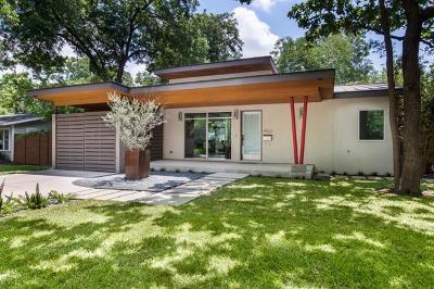 Austin Single Family Home For Sale: 4503 Oakmont Blvd