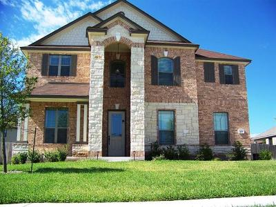 Pflugerville Single Family Home Active Contingent: 909 Lonesome Lilly Way