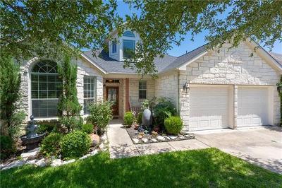 Cedar Park Single Family Home For Sale: 3126 Argento Pl
