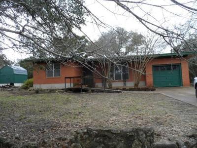 Belton Single Family Home For Sale: 13306 Rattlesnake Rd