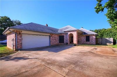 Travis County Single Family Home Pending - Taking Backups: 7933 Wheel Rim Cir