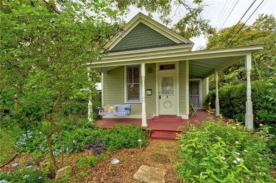 Austin Single Family Home Pending - Taking Backups: 405 W 43rd St