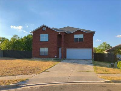 Round Rock Single Family Home For Sale: 3330 High Cotton Way