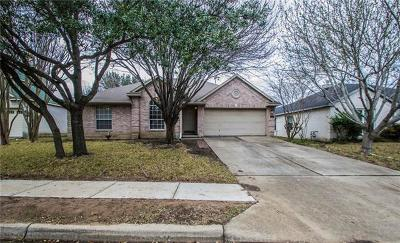 Round Rock Single Family Home For Sale: 3620 Cheyenne St