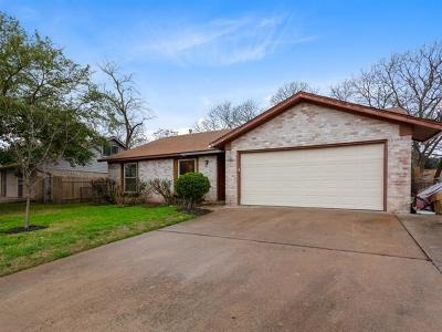 Travis County Single Family Home For Sale: 12910 Lamplight Village Ave