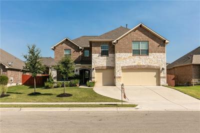 Pflugerville Single Family Home For Sale: 3416 Eagle Ridge Lane