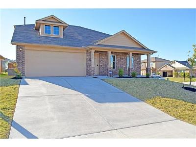 Manor Single Family Home For Sale: 18001 Busby Dr