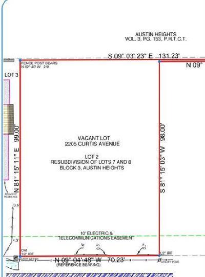 Residential Lots & Land Pending - Taking Backups: 2205 Curtis Ave