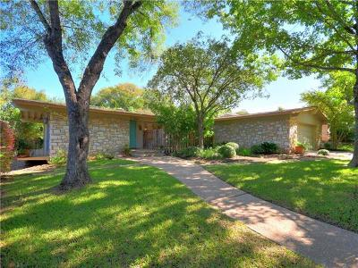 Austin Single Family Home For Sale: 2500 Briargrove Dr