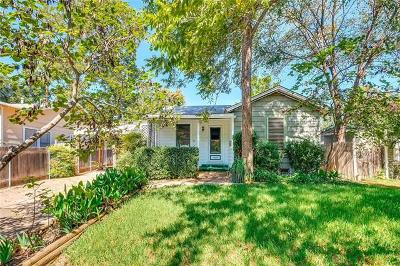 Austin Single Family Home For Sale: 1406 E 34th St