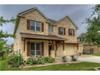 Round Rock Single Family Home For Sale: 4372 Green Tree Dr