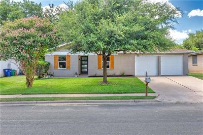 Austin Single Family Home For Sale: 6510 Starstreak Dr