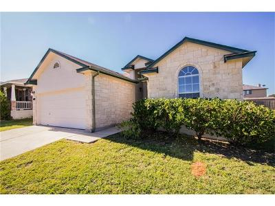 Hutto Single Family Home Pending - Taking Backups: 316 Lakemont Dr