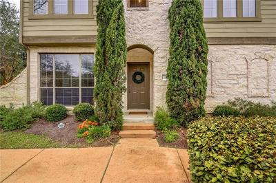 Cedar Park Condo/Townhouse For Sale: 11400 W Parmer Ln #81