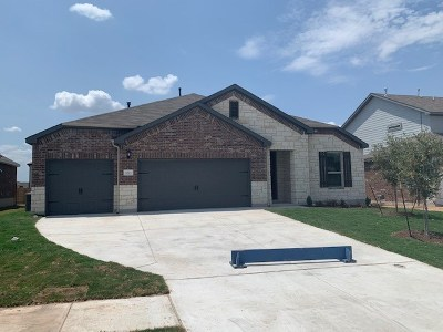 Round Rock Single Family Home For Sale: 5813 Toscana Trace