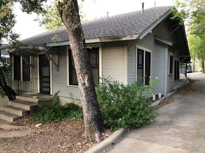 Austin Single Family Home For Sale: 1118 W 7th St