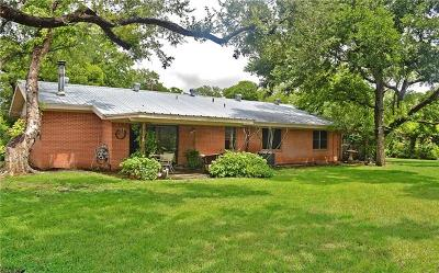 Burnet County Single Family Home For Sale: 808 Sherwood Forest Dr