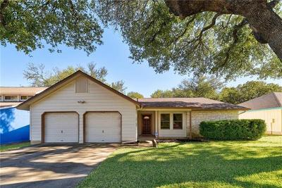 Austin TX Single Family Home For Sale: $329,500