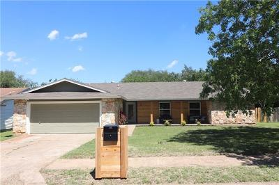 Austin Single Family Home For Sale: 11027 Hard Rock Rd