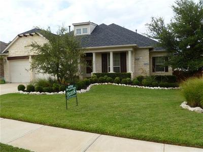 Round Rock Single Family Home For Sale: 3113 Luminoso Ln E