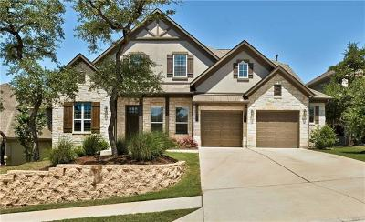 Travis County Single Family Home Pending - Taking Backups: 8608 Echo Shore Cv