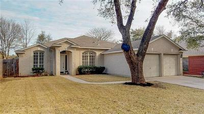 Hays County, Travis County, Williamson County Single Family Home Pending - Taking Backups: 4808 Chesney Ridge Dr