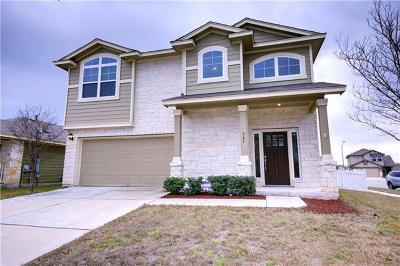 Round Rock Single Family Home For Sale: 547 Tumlinson Fort Way