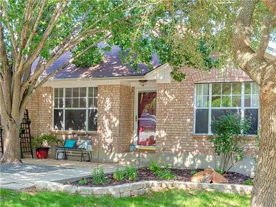 Round Rock Single Family Home For Sale: 3807 Eagles Nest St