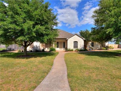 Hutto Single Family Home For Sale: 300 San Jacinto