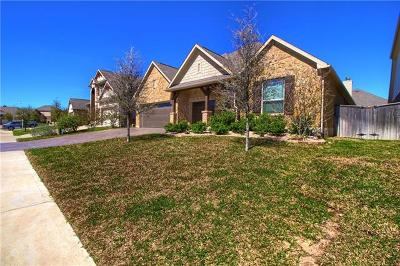 Round Rock Single Family Home For Sale: 4503 Miraval Loop