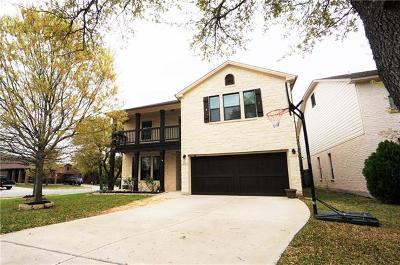 Cedar Park Single Family Home For Sale: 526 Clover Flat Rd