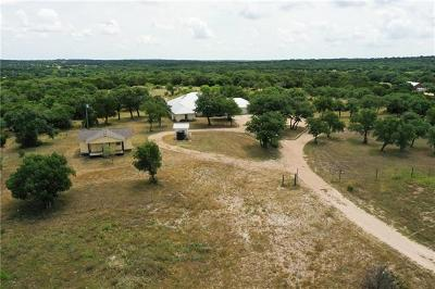 Burnet County, Lampasas County, Bell County, Williamson County, llano, Blanco County, Mills County, Hamilton County, San Saba County, Coryell County Farm For Sale: 20801 Firefly