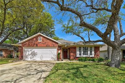 Cedar Park Single Family Home Pending - Taking Backups: 2303 Clover Ridge Dr