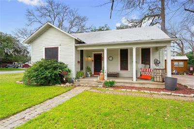 Lockhart Single Family Home Pending - Taking Backups: 425 Hackberry St