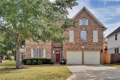 Georgetown Single Family Home For Sale: 111 S Carriage Hills Dr