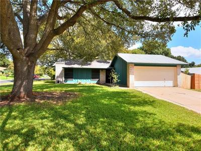 Hays County, Travis County, Williamson County Single Family Home For Sale: 5207 Fort Mason Dr